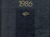 TYB Yayınları 5: 1986 yılı Kültür Sanat Yıllığı