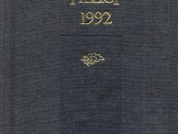 TYB Kitapları 11: 1992 yılı Kültür Sanat Yıllığı