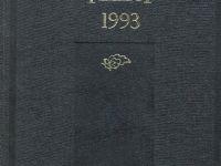 TYB Kitapları 12: 1993 yılı Kültür Sanat Yıllığı