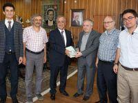 Erzurum Şubesi'nden Rektör Çomaklı'ya Kitaplı Ziyaret