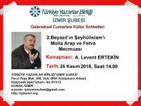 "II.Bayazıt'ın Şeyhül İslamı ""Molla Ali Arabi"""