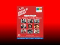 8. İstanbul Edebiyat Festivali Şiir Akşamı ve Ödül Töreni