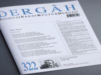 Dergâh dergisi'nin Aralık/ 322. sayısı raflardaki yerini aldı.