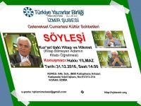 Hakkı Yılmaz İzmir Şubesi'nde