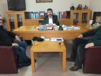 Satranç Federasyonundan TYB'yi Ziyaret