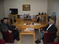 Genel Başkan Musa Kazım Arıcan'ı ziyaret