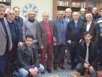 TYB Erzurum Şubesi'nin Konuğu Talat Uzunyaylalı Oldu