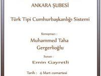 Muhammed Taha Gergerlioğlu ile Türk Tipi Başkanlık Sistemi