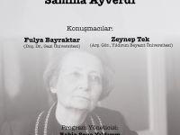 Gençler Üstadları An(l)ıyor: Sâmiha Ayverdi