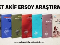 Mehmed Âkif ile ilgili en geniş külliyatın 9. cildi yayınlandı