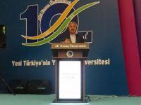 D. Mehmet Doğan: Türkçe'nin gücü ile Türk mefkûresi birbirine sıkı sıkıya bağlıdır