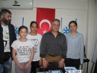 İzmir Şubesinde kareteci üç kuşak bir arada