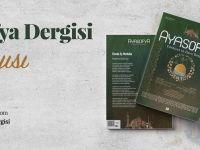 Ayasofya Dergisi'nin 19. Sayısı Çıktı!