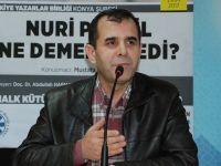 Mustafa Aydoğan, Konya Şubesinde Nuri Pakdil'i Anlattı