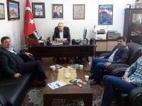 Erzurum İl Milli Eğitim Müdürü Yıldız TYB Erzurum Şubesini Ziyaret Etti