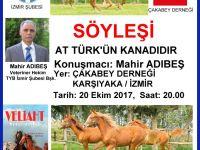 """Mahir Adıbeş """"At Türk'ün kanadıdır"""""""