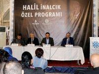 'Tarihçilerin Kutbu' Halil İnalcık anıldı
