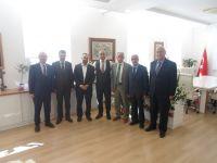 İzmir İl Milli Eğitim Müdürü Ömer Yahşi'yi Ziyaret