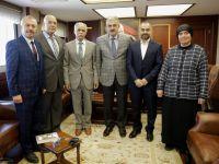 İzmir Şube Yönetimi Vali Ayyıldız'ı makamında ziyaret etti