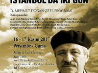 D.Mehmet Doğan ile İstanbul'da İki Gün