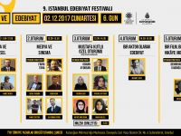 9. İstanbul Edebiyat Festivali'nde Ödül Töreni