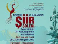 Türkçenin 12. Şiir Şöleni Türkistan'da yapılacak