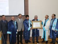 Ankara Yıldırım Beyazıt Üniversitesi D. Mehmet Doğan'a Fahri Doktora Unvanı Verdi
