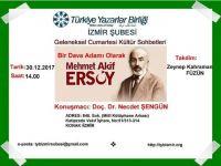 İzmir Şubesi'nden Yılın Son Programı Mehmet Akif