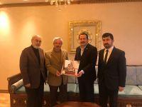 TYB Yönetimi Eğitim Bir-Sen Yönetimi ile Mehmet Âkif İnan Vakfında bir araya geldi