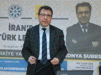 """Konya Şubesi'nde """"İran'da Türk Lehçeleri"""" konuşuldu"""