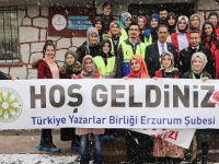 Erzurum Şubesi, okul ziyaretlerine devam ediyor