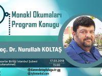 Nurullah Koltaş TYB İstanbul'da Konuşacak