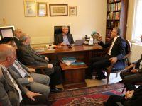 Elazığ Belediye Başkanı Yanılmaz'dan TYB'yi Ziyaret