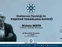 TYB'den Muhsin Mete'ye Saygı Programı