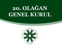 TYB'nin 20. Olağan Genel Kurulu 31 Mart'ta Yapılacak
