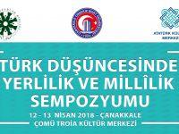 Türk Düşüncesinde Yerlilik ve Millîlik Sempozyumu