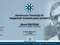 TYB'den Nazif Öztürk'e Saygı Programı