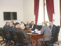 TYB Yönetimi Darülaceze Başkanı Cebeci'yi ziyaret etti