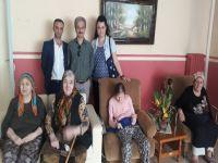 Trabzon Şubesi Huzurevini Ziyaret Etti