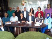 """""""Trabzon Şubemiz, Trabzon Gazeteciler Cemiyetinde STK'lar ile ortak yapılan platformunda çocuk istismarlarını kınadılar"""""""