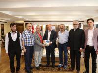 Erzurum Şubesi'nden Başkan Sekmen'e Teşekkür Ziyareti