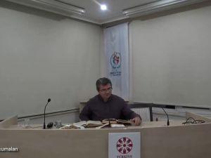 Mesnevî Okumaları -41- Dr. Fahrettin Coşguner