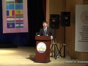 Türkçenin 13. Uluslararası Şiir Şöleni Açılış Konuşmaları