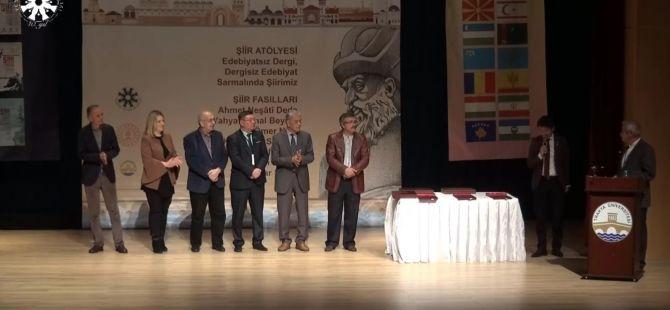 Türkçenin 13. Uluslararası Şiir Şöleni Ödül Töreni