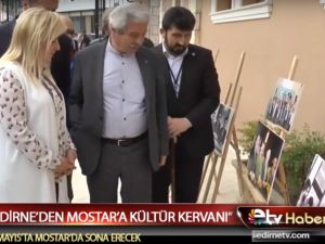 Edirne'den Mostar'a Kültür Kervanı Üsküp'te