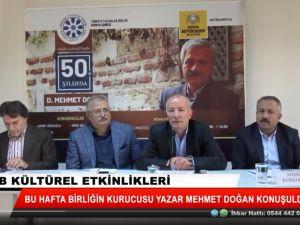 """""""Yazarlığının 50.yılında D. Mehmet Doğan"""""""
