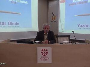 D. Mehmet Doğan ile Yazı Atölyesi Açılış Dersi