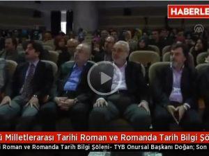 3. Milletlerarası Tarihî Roman ve Romanda Tarih Bilgi Şöleni