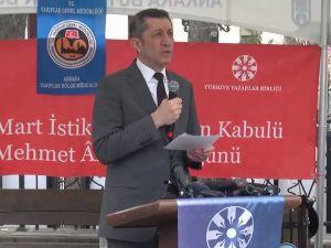 Âkif Ankara'ya İslâm Şairi olarak davet edildi