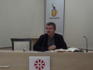 Mesnevî Okumaları -24- Dr. Fahrettin Coşguner